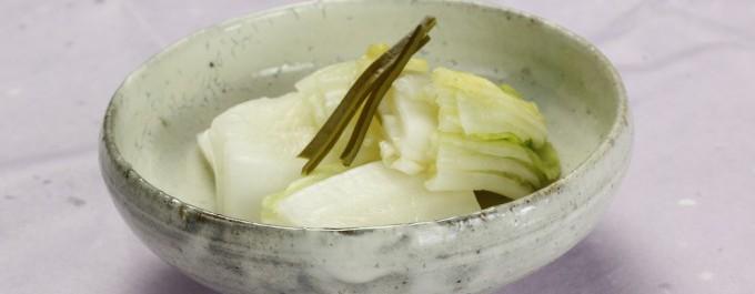 昆布白菜盛り付け画像